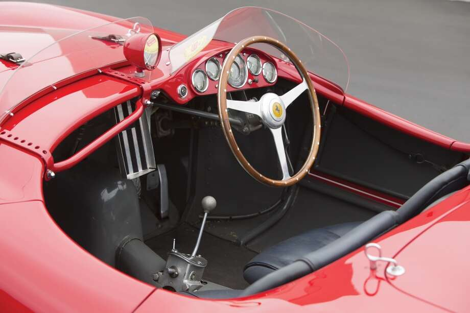 This car represents an important piece in Ferrari's racing heritage. Photo: Pawel Litwinski ©2013 Courtesy