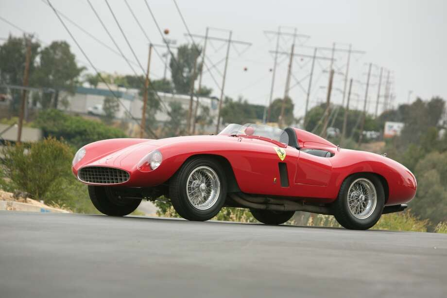 1955 Ferrari 750 Monza Spider  This car is valued at $3.4 to $4.4 million, according to RM Auctions. Photo: Pawel Litwinski ©2013 Courtesy