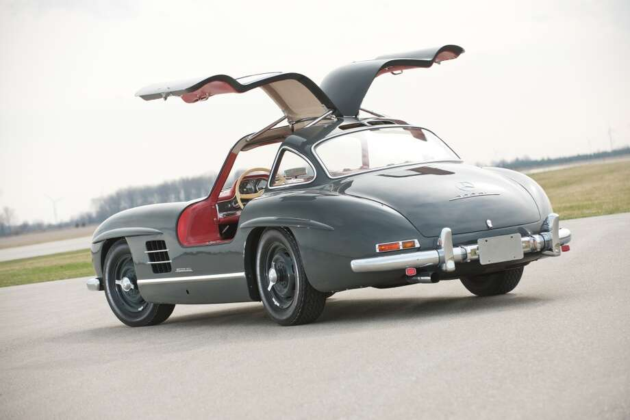 1955 Mercedes-Benz 300SL Gullwing  This car is valued at $1.3 to $1.5 million. Photo: Darin Schnabel ©2013 Courtesy O