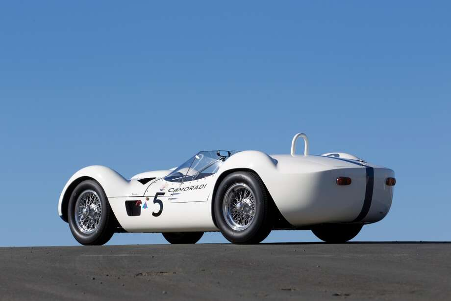Like other cars in this auction, this car spent time on the race track. Photo: Kyle Burt ©2013 Courtesy Of RM