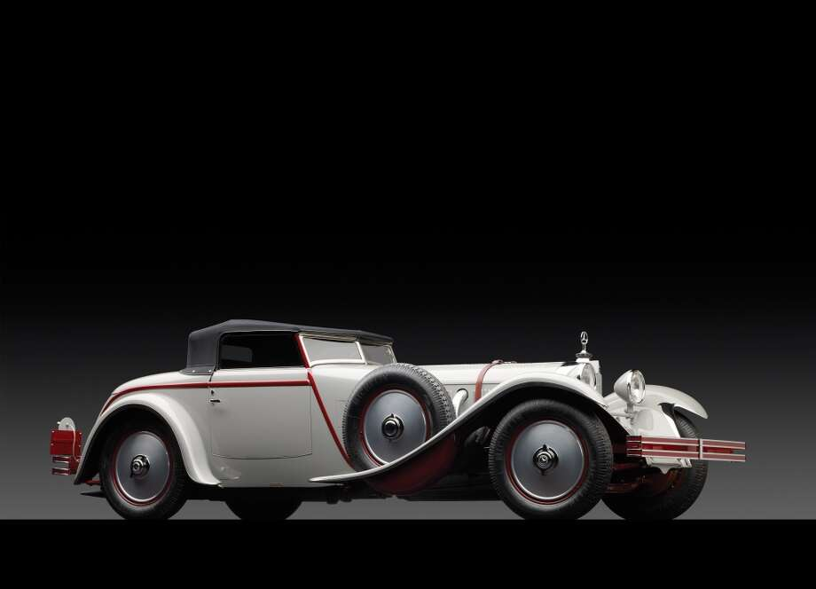 1928 Mercedes-Benz 680S Torpedo Roadster  This car could fetch more than $10 million at auction this weekend. Photo: Michael Furman ©2013 Courtesy O