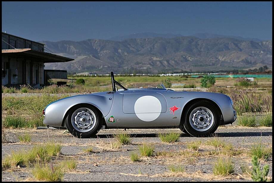 1955 Porsche 550/1500 RS Spyder  This car could fetch millions this weekend. Photo: Mercum Auctions
