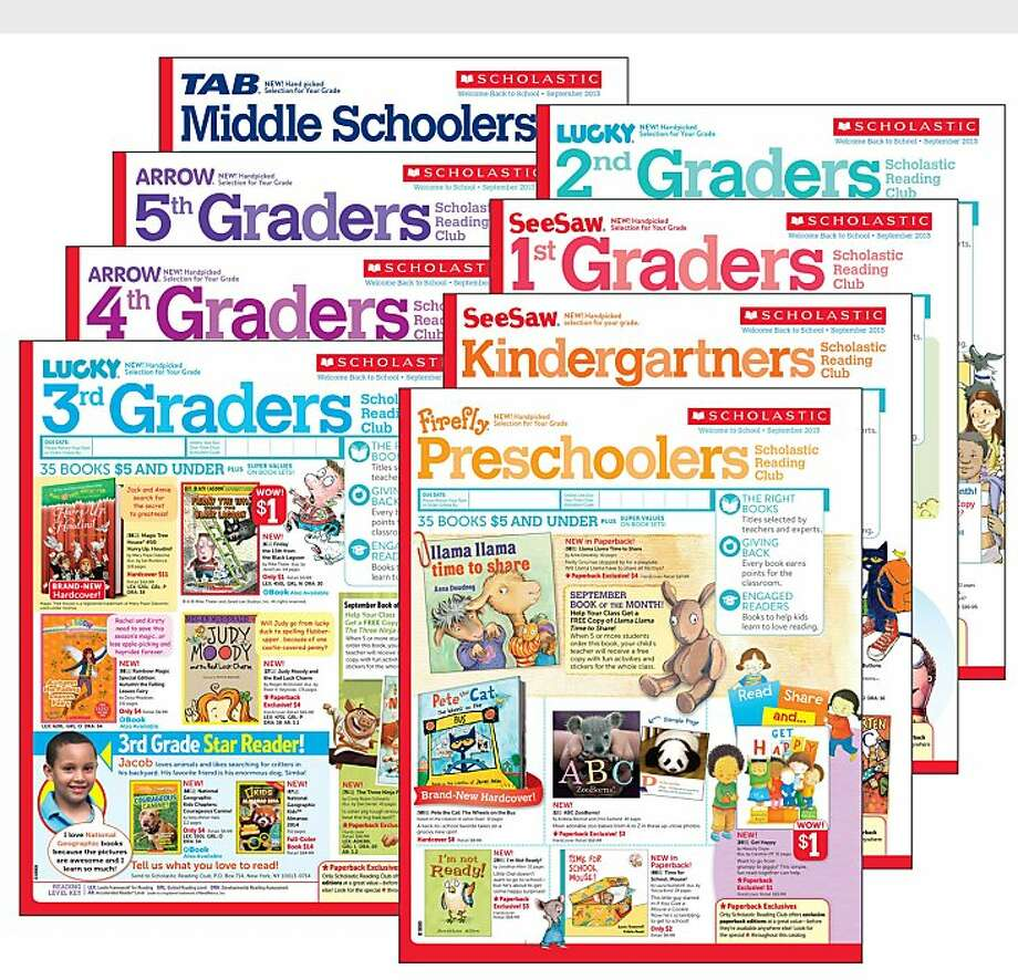 The new grade-specific Scholastic Reading Club flyers offers books with varied reading levels found in each grade to help Pre-K to Middle School students find just right books and prepare to meet the demands of the Common Core State Standards.  (PRNewsFoto/Scholastic) Photo: Associated Press