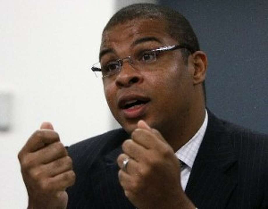 Roland Fryer is the Harvard researcher who helped HISD Superintendent Terry Grier design the Apollo school reform program. ( Karen Warren / Houston Chronicle )
