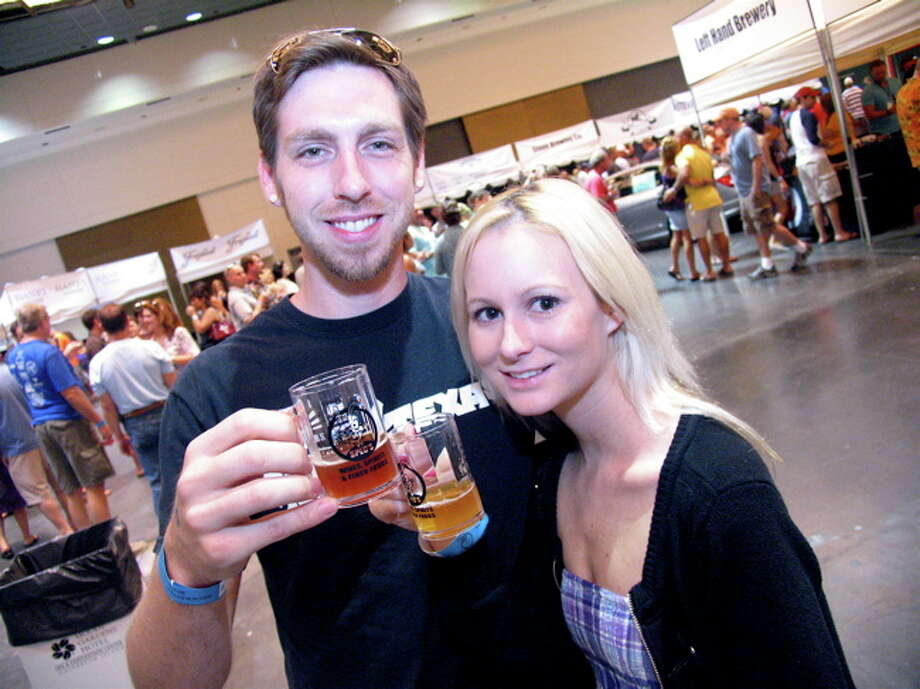 Rescheduled (Nov. 24-26): Sample over 400 craft brews at the Brewmasters Craft Beer Festival at Moody Gardens in Galveston. This festival, slated for Labor Day weekend, will be rescheduled for a later date. Tickets already purchased will be honored on the new date.  Photo: Jordan Graber, For The Houston Chronicle / Freelance