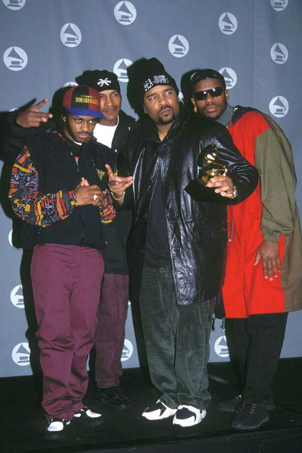 Sir Mix-A-Lot in the press room at the 1993 Grammy Awards in New York City. Miz-a-Lot won best solo rap performance. Photo: Vinnie Zuffante, Getty Images / Archive Photos