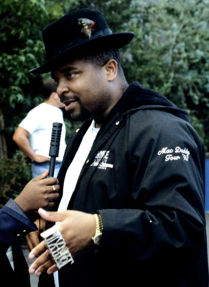 Sir Mix-a-Lot attends KMEL Summer Jam at Shoreline Amphitheatre on August 2, 1992 in Mountain View Calif. Photo: Tim Mosenfelder, Getty Images / 1992 Tim Mosenfelder