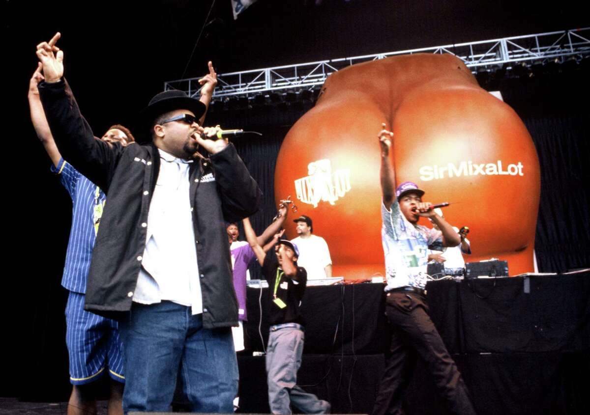 Seattle's original Mack Daddy celebrated his 50th birthday Monday, and it's time for a look back at Roosevelt High School's own Sir Mix-a-Lot. Witness the swass.