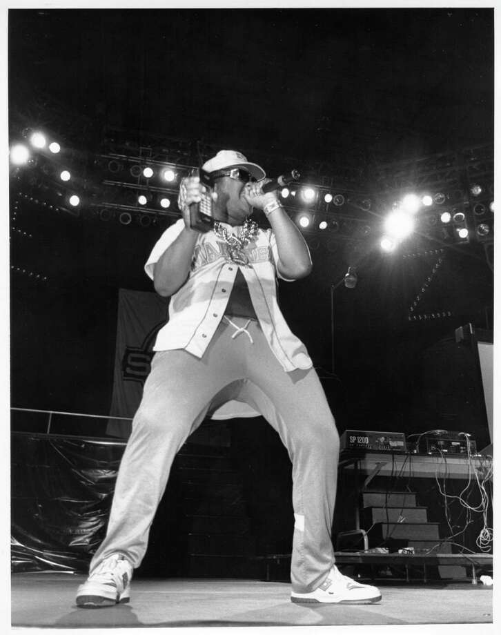 Sir Mix-a-Lot, pictured on stage in 1990. Photo: Raymond Boyd, Getty Images / Michael Ochs Archives