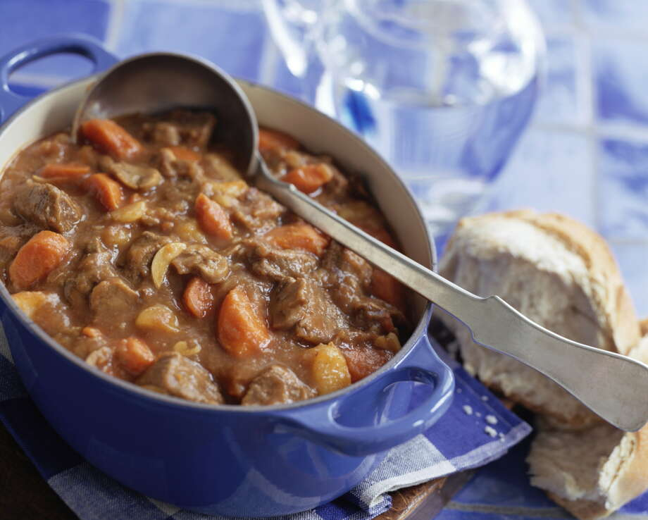 More than 4,700 pounds of beef stew product sold at Texas H-E-B stores may be contaminated with plastic and metal and is being recalled. Continue through the photos to see the other big product recalls from this year. Photo: Rita Maas, Getty Images / (c) Rita Maas
