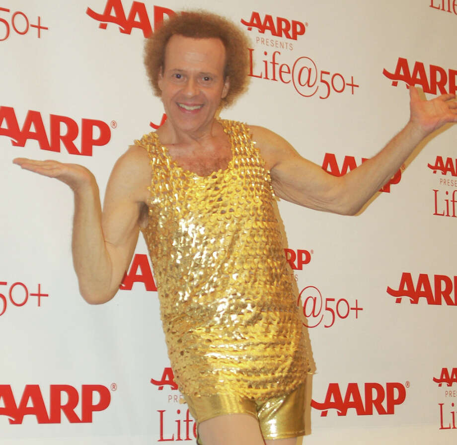 Fitness guru Richard Simmons is left-handed. His groovy moves may not be a coincidence - it is a common stereotype that left-handed people are more creative. Photo: Wikimedia Commons