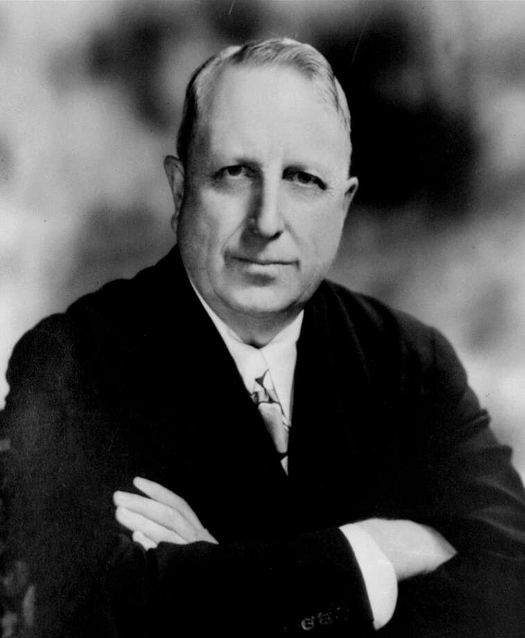 Media baron William Randolph Hearst,  shown in this 1935 photo, died Aug. 14, 1951. Photo: STF / AP