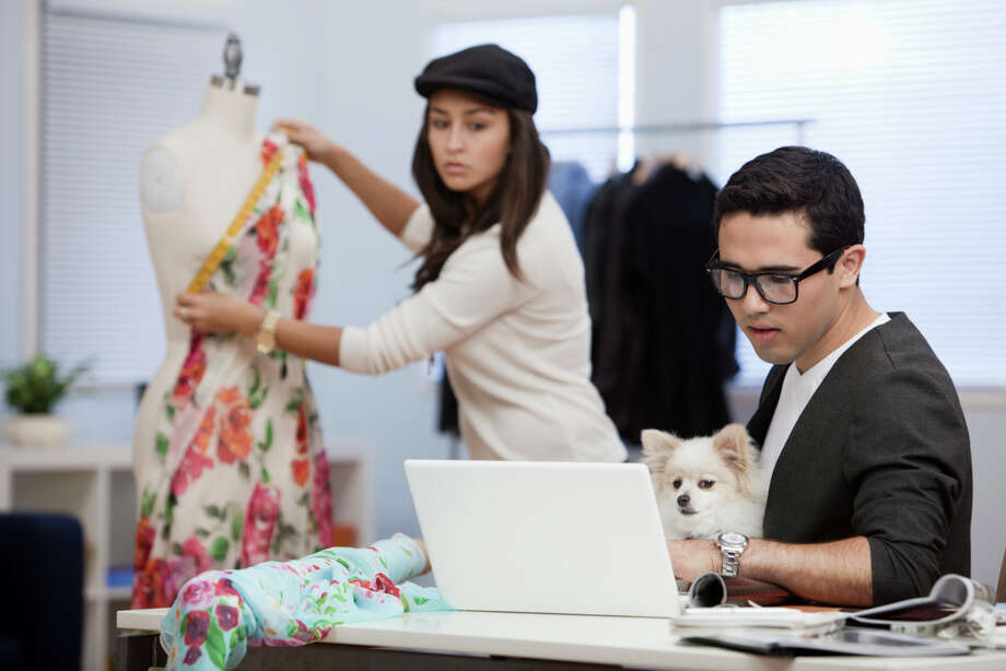 Least meaningful jobs6. Associate fashion designerPeople who said this job improves the world: 9 percent. People satisfied with this job: 73 percent. Average annual salary: $50,700. Photo: Blend Images/Hill Street Studios, X / (c) Blend Images/Hill Street Studios