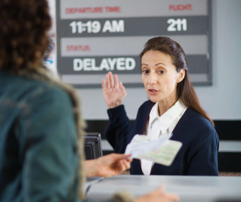 Least meaningful jobs10. Airline reservation agent: Only 9 percent of people with this job said their work improves the world. But 82 percent were satisfied with the job. Average salary: $28,700.  Photo: Jupiterimages, X / (C) 2006 Jupiterimages