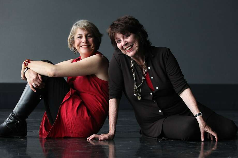 JoAnne Winter (left) and Susan Harloe are the artistic directors and founders of Word for Word Performing Arts Company. Photo: Liz Hafalia, The Chronicle