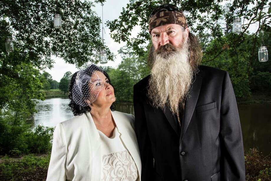 Miss Kay and Phil Robertson in A&E's 'Duck Dynasty' returning for season 4 August 14 , 2013 Photo: Karolina Wojtasik