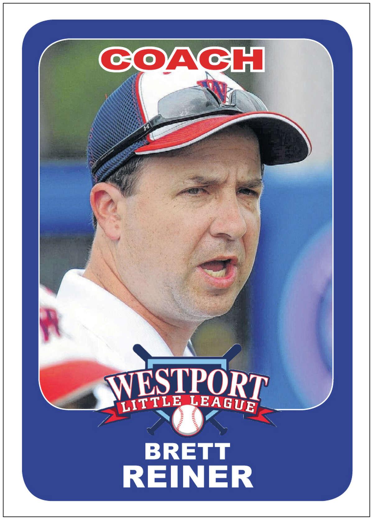 Westport Little League Coach Brett Reiner