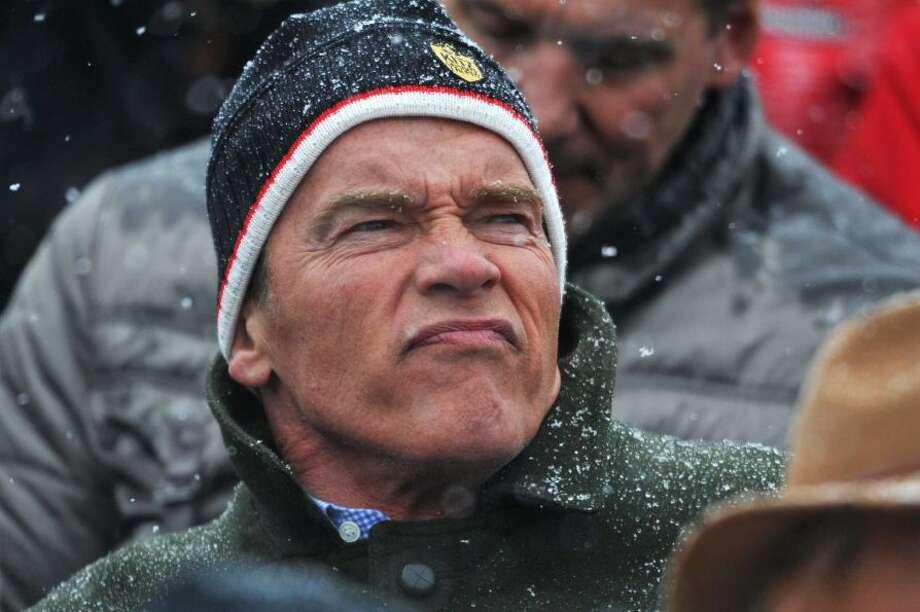 Arnold Schwarzenegger, former governator of California, had 288 jokes made about him by Jay Leno.
