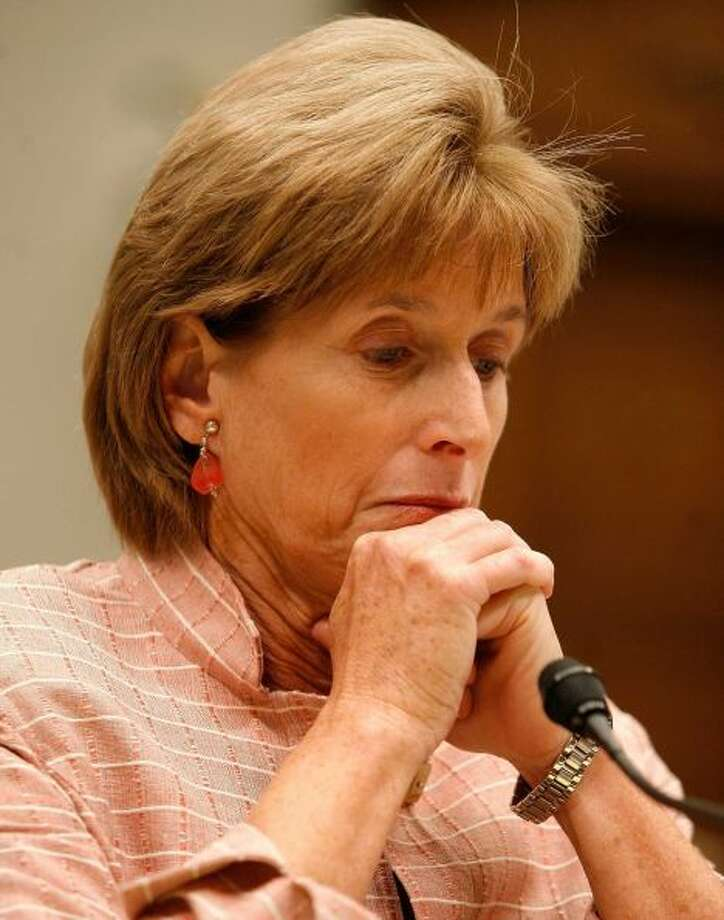 "Christine Todd Whitman: The patrician Republican governor of New Jersey, and later Environmental Protection Agency administrator, let it hang out when relating her experience with cannabis: ""I turned on, I tuned in and I threw up."" The ex-governor's brother Webster Todd is partners in Compassion Sciences, a supplier of medical marijuana.  (Photo By Mark Wilson/Getty Images)"