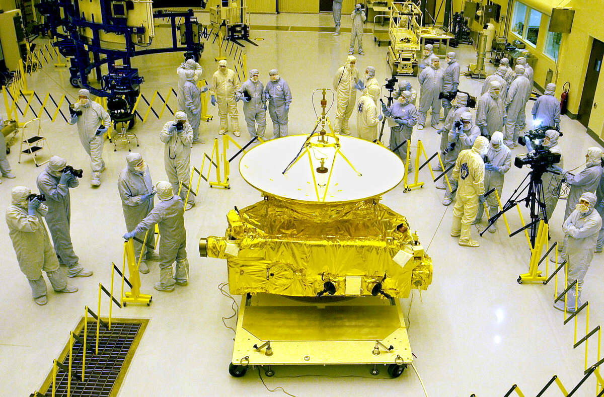 The New Horizons spacecraft was launched in January 2006.