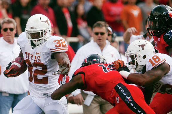 Texas' Johnathan Gray is looking to regain the form that made him a scoring machine in high school.