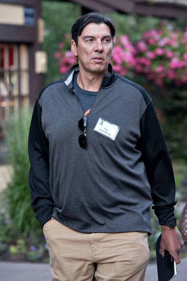 Tim Armstrong, chief executive officer of AOL and founder of Patch, is seen at a 2013 conference in Idaho in this file photo. Daniel Acker/Bloomberg Photo: Daniel Acker / © 2013 Bloomberg Finance LP