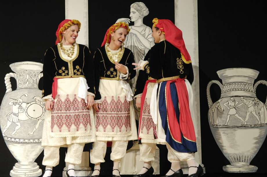 In traditional costume at Greek Fest Photo: Picasa