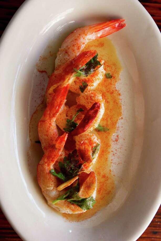 Grilled shrimp at Batanga Tapas on Thursday, Aug. 8, 2013, in Houston. Photo: J. Patric Schneider, For The Chronicle / © 2013 Houston Chronicle