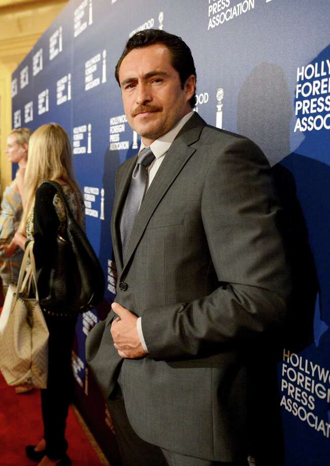 Demian Bichir arrives at the Hollywood Foreign Press Association Luncheon at the Beverly Hilton Hotel on Tuesday, Aug. 13, 2013, in Beverly Hills, Calif. (Photo by Jordan Strauss/Invision/AP) ORG XMIT: CAPM134 Photo: Jordan Strauss, AP / Invision