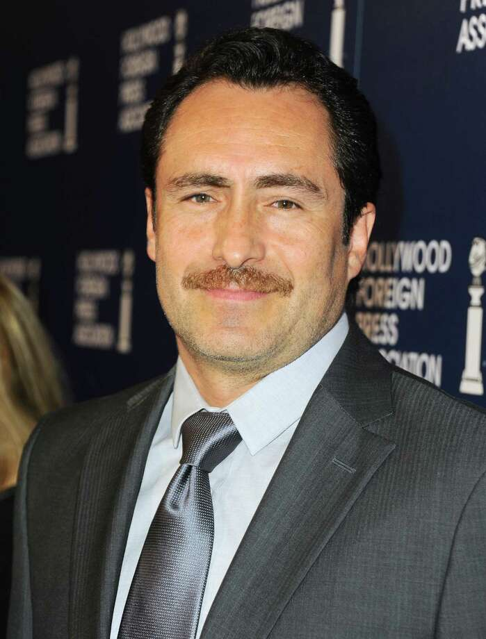 Demian Bichir arrives at the Hollywood Foreign Press Association Luncheon at the Beverly Hilton Hotel on Tuesday, Aug. 13, 2013, in Beverly Hills, Calif. (Photo by Jordan Strauss/Invision/AP) ORG XMIT: CAPM133 Photo: Jordan Strauss, AP / Invision