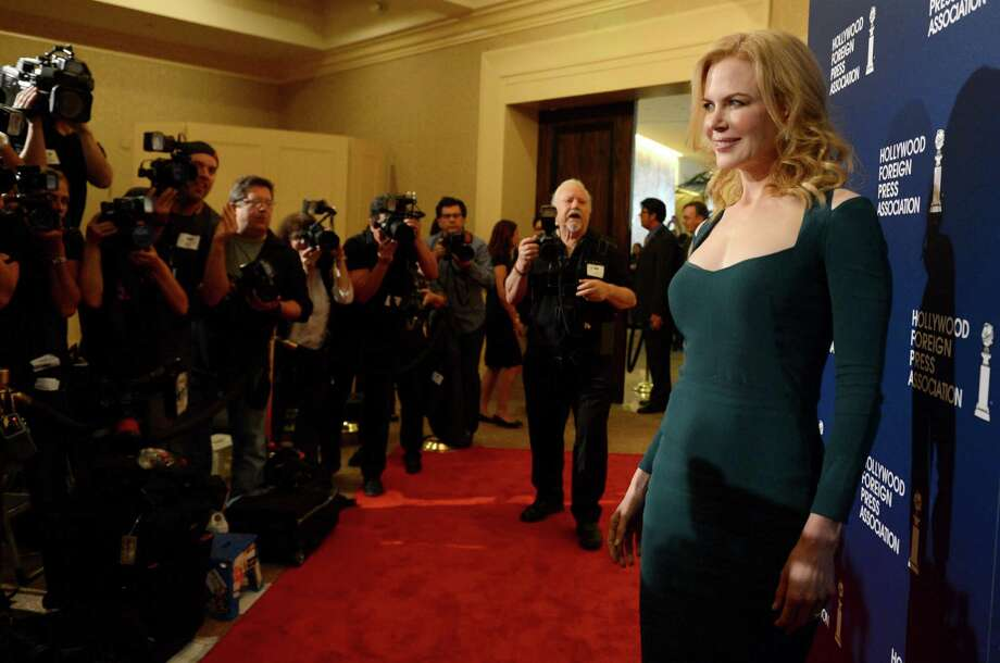 Nicole Kidman arrives at the Hollywood Foreign Press Association Luncheon at the Beverly Hilton Hotel on Tuesday, Aug. 13, 2013, in Beverly Hills, Calif. (Photo by Jordan Strauss/Invision/AP) ORG XMIT: CAPM127 Photo: Jordan Strauss, AP / Invision