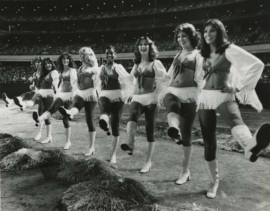 Derrick Dolls in the 1980s (undated photo) Photo: Sam C. Pierson Jr., Houston Chronicle