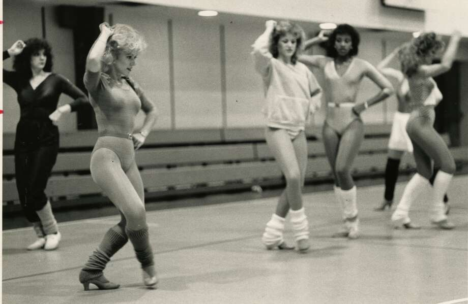 Derrick Dolls at practice in 1983. Photo: Craig H. Hartley, Houston Chronicle Files