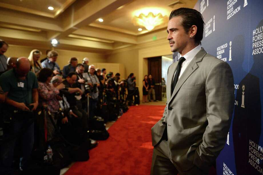 Colin Farrell arrives at the Hollywood Foreign Press Association Luncheon at the Beverly Hilton Hotel on Tuesday, Aug. 13, 2013, in Beverly Hills, Calif. (Photo by Jordan Strauss/Invision/AP) ORG XMIT: CAPM128 Photo: Jordan Strauss, AP / Invision