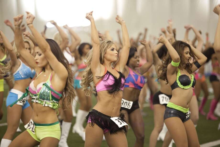 Houston Texans cheerleader tryouts in 2013. Photo: Eric Kayne, For The Chronicle