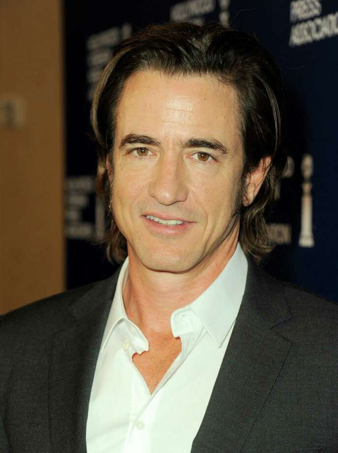 Dermot Mulroney arrives at the Hollywood Foreign Press Association Luncheon at the Beverly Hilton Hotel on Tuesday, Aug. 13, 2013, in Beverly Hills, Calif. (Photo by Jordan Strauss/Invision/AP) ORG XMIT: CAPM117 Photo: Jordan Strauss, AP / Invision