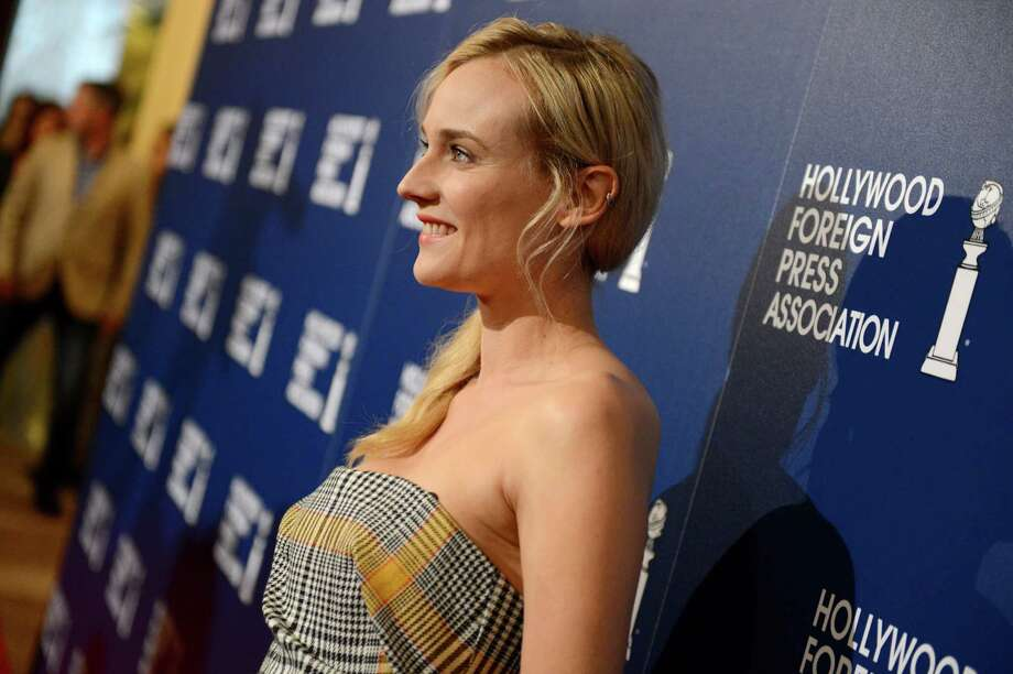 Diane Kruger arrives at the Hollywood Foreign Press Association Luncheon at the Beverly Hilton Hotel on Tuesday, Aug. 13, 2013, in Beverly Hills, Calif. (Photo by Jordan Strauss/Invision/AP) ORG XMIT: CAPM126 Photo: Jordan Strauss, AP / Invision
