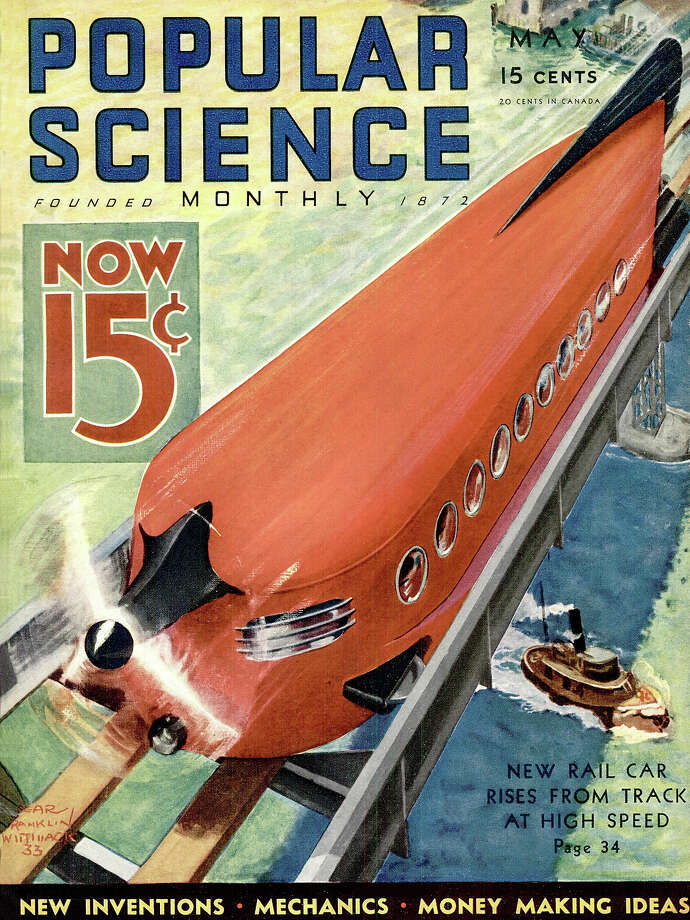 USA - Front cover of Popular Science Magazine. Photo: Popular Science, Popular Science Via Getty Images / Bonnier Corporation