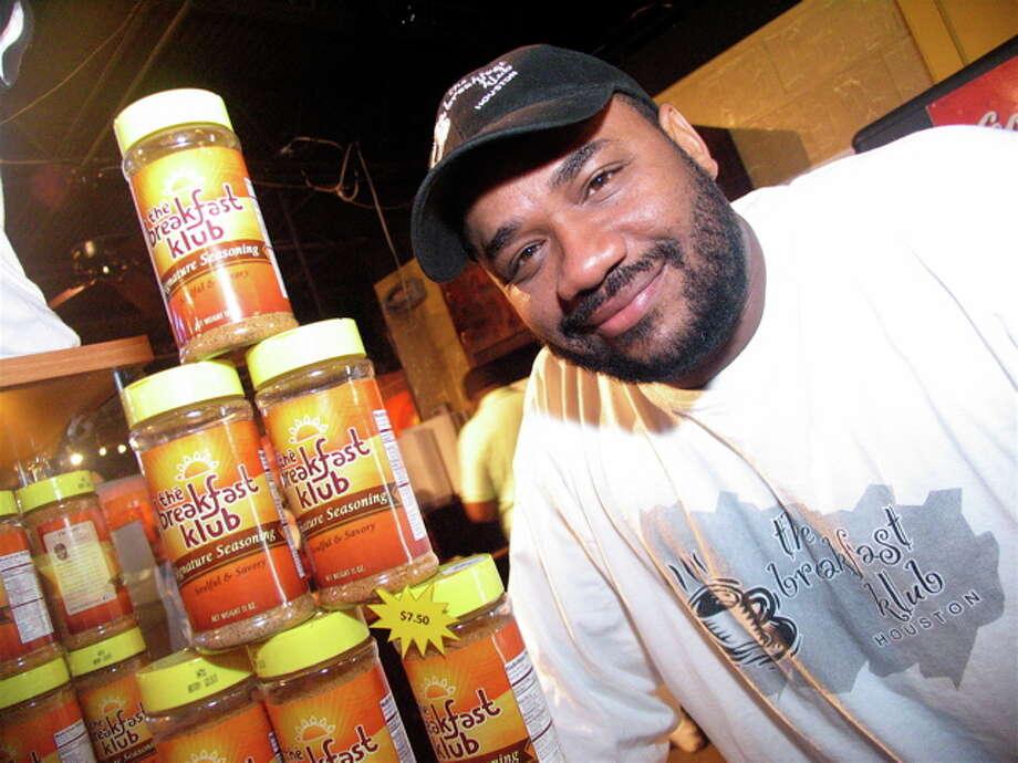Marcus Davis at the Breakfast Klub, Feb. 1, 2012 Photo: Jordan Graber