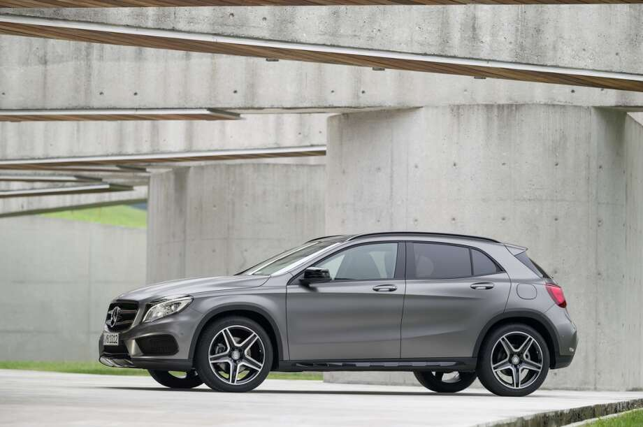 2015 Mercedes-Benz GLA-Class. Photo: Mercedes-Benz, Wieck