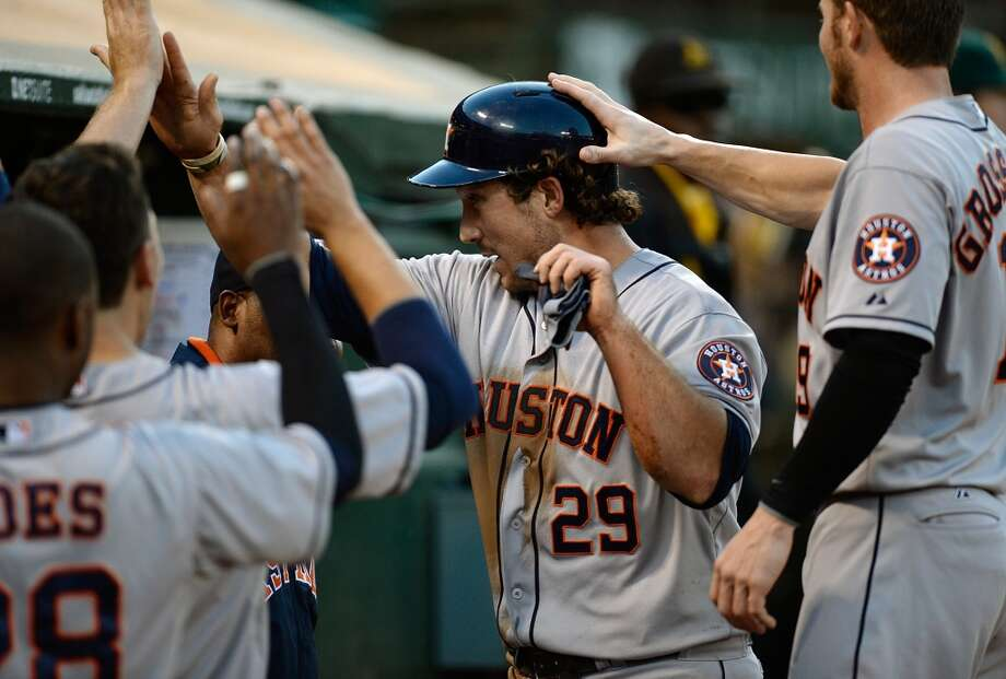 Aug. 13: Astros 5, A's 4  A gem by pitcher Jordan Lyles almost went to waste, but Houston found a way to pull out a win in the series opener against Oakland.  Record: 38-80. Photo: Thearon W. Henderson, Getty Images
