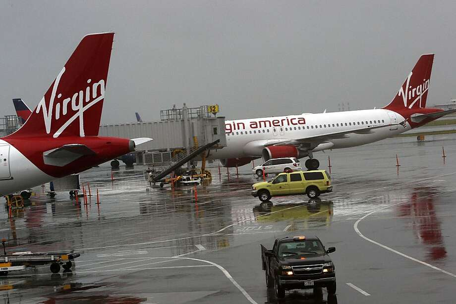 Virgin America is the second-biggest airline in terms of traffic at San Francisco International Airport. Photo: Liz Hafalia, The Chronicle