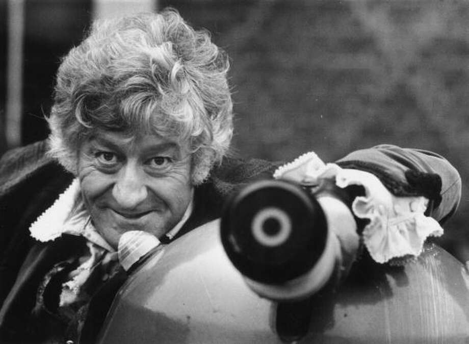 Jon Pertwee was the third Doctor Who.  He had the role from 1970 to 1974. Photo: Evening Standard, Getty Images / Hulton Archive
