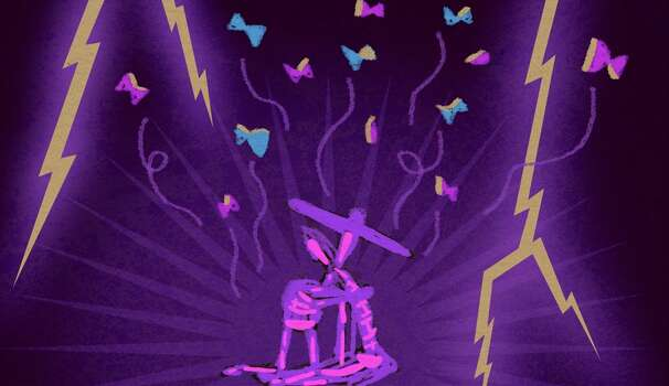 """This is an image from """"La Triste Historia,"""" a multimedia work commissioned by the Houston Symphony. The music is by Mexican composer Juan Trigos, and the British studio ticktockrobot created the animation. The orchestra will premiere """"La Triste Historia"""" in November. Photo: Ticktockrobot Ltd."""