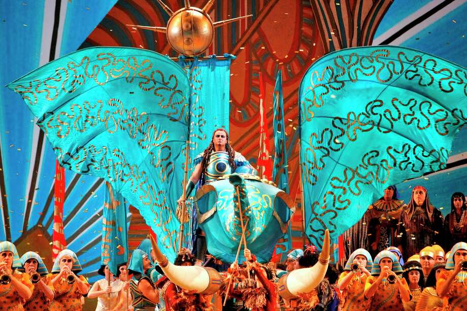 "Houston Grand Opera's 2013-14 season will open with Giuseppe Verdi's ""Aida."" Performances will be Oct. 18-Nov. 9. Photo: Cory Weaver"