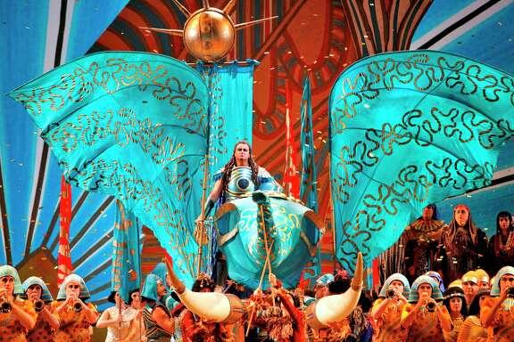 "Houston Grand Opera's 2013-14 season will open with Giuseppe Verdi's ""Aida."" Performances will be Oct. 18-Nov. 9."