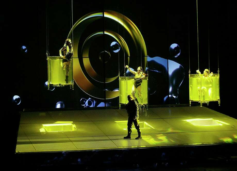 """Richard Wagner's """"Das Rheingold"""" will launch Houston Grand Opera's four-year traversal of Wagner's """"The Ring of the Nibelung."""" The staging was created by the Spanish theatrical company La Fura dels Baus. Photo: Tato Baeza"""