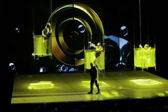 """Richard Wagner's """"Das Rheingold"""" will launch Houston Grand Opera's four-year traversal of Wagner's """"The Ring of the Nibelung."""" The staging was created by the Spanish theatrical company La Fura dels Baus."""