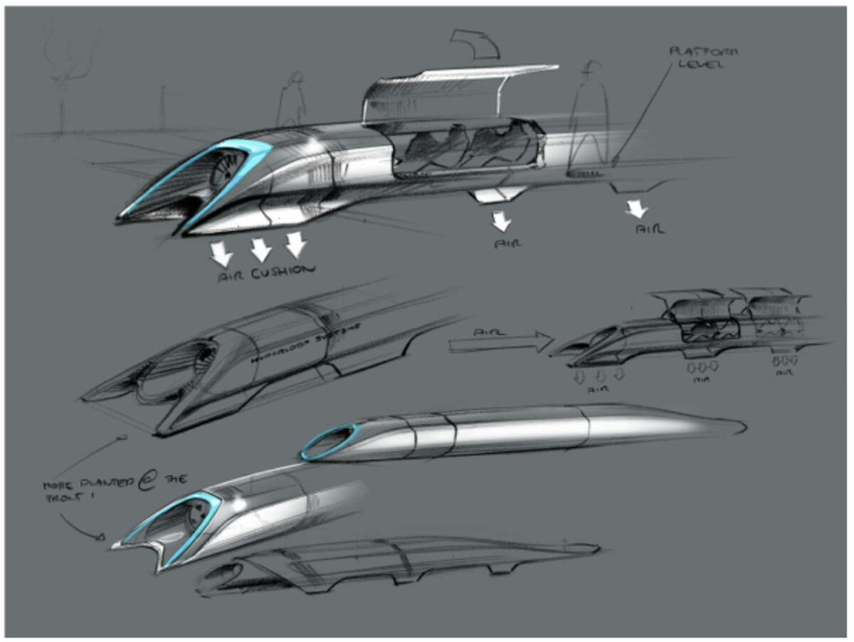 Billionaire Elon Musk's Hyperloop proposal for bringing electro-magnetic-powered transportation and the linear induction motor back to the future. Musk unveiled his idea Monday on his Tesla Motors blog. Musk is the Chairman, Product Architect & CEO of Tesla Motors. (Photo courtesy of Tesla Motors)
