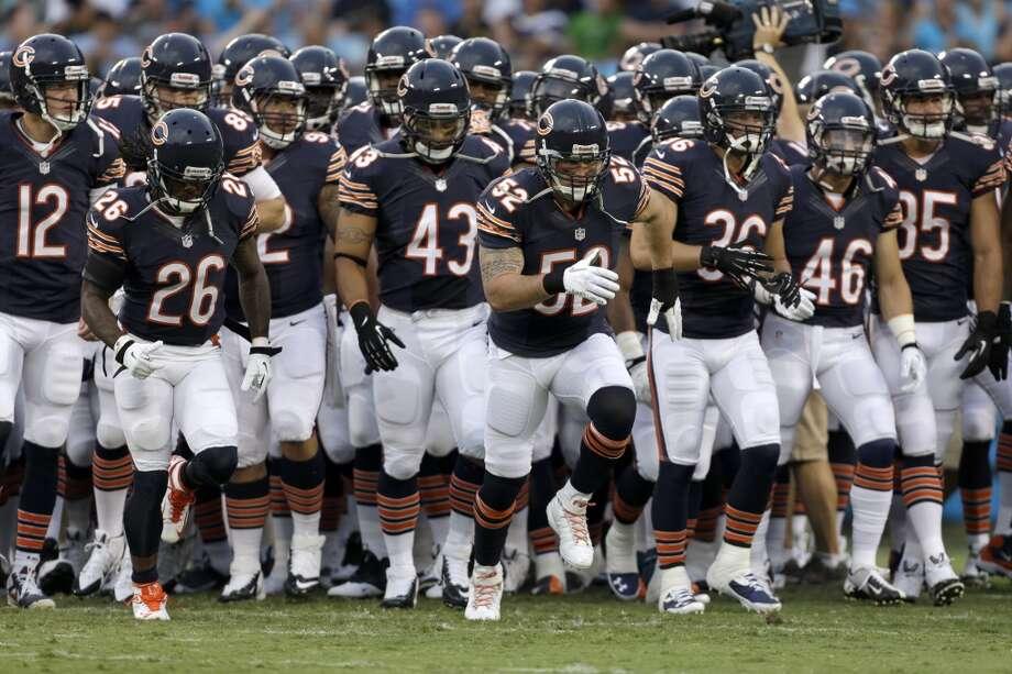 No. 8: Chicago Bears Value: $1.252 billion Photo: Bob Leverone, Associated Press